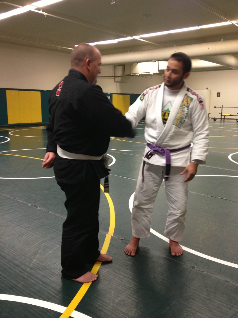 Congratulations to Jerry on His First Two Stripes!