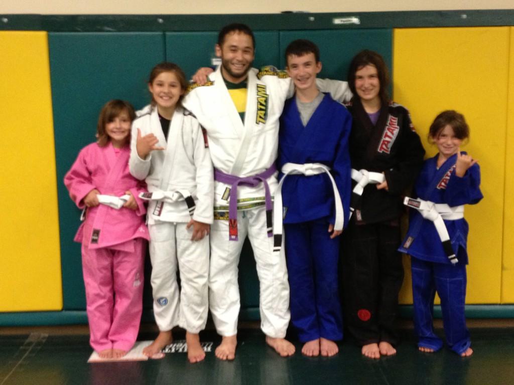 Congratulations to Teja, Mai Mai, Brandon, Briana and Brooke on Their Stripes!