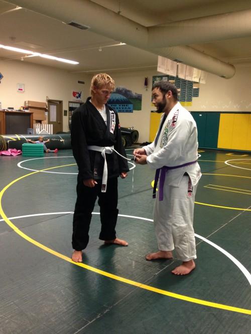 Congratulations to Jayden getting his 3rd stripe from Quincy Brazilian Jiu-Jitsu