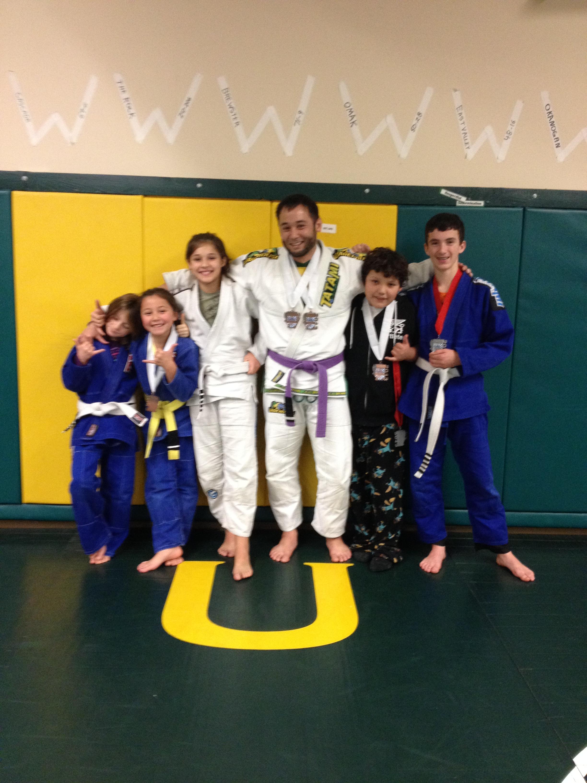 Congratulations to Quincy Brazilian Jiu-Jitsu students getting a promotion on 11.11.2013