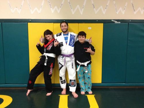 Congratulations to Quincy Brazilian Jiu-Jitsu's Briana & Trytan on earning their stripes!