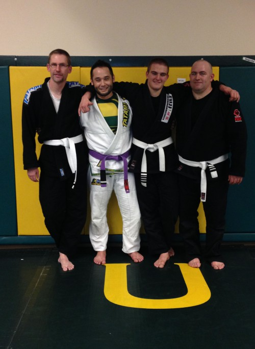 Shawn, Jeremy, Jayden and Jerry of Quincy Brazilian Jiu-Jitsu