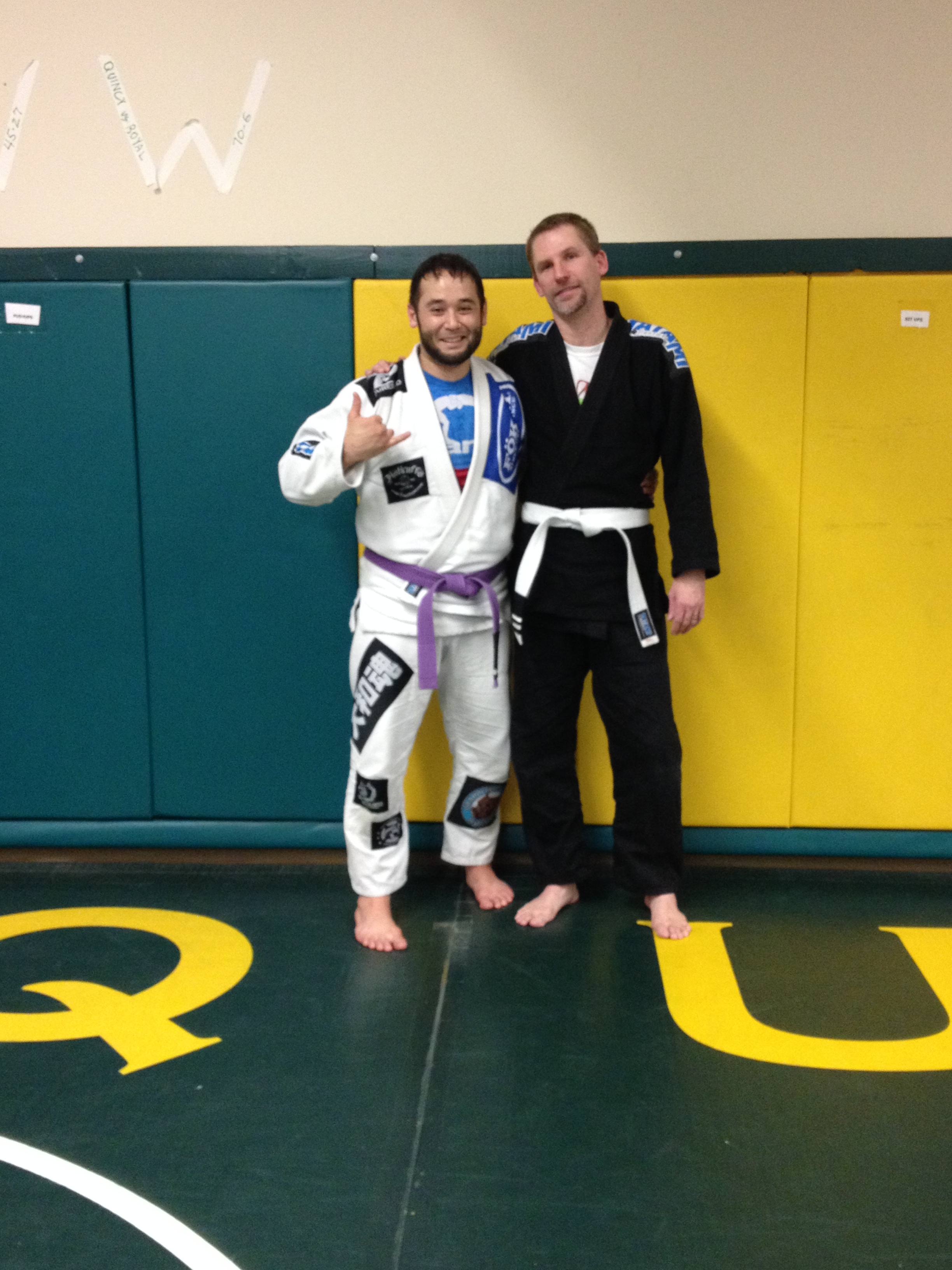 Congratulations to Shawn Highfill on getting his 2nd stripe!