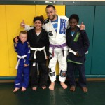 Congratulations to Jenny, Makenzie & Boden on getting striped by Quincy Brazilian Jiu-Jitsu!