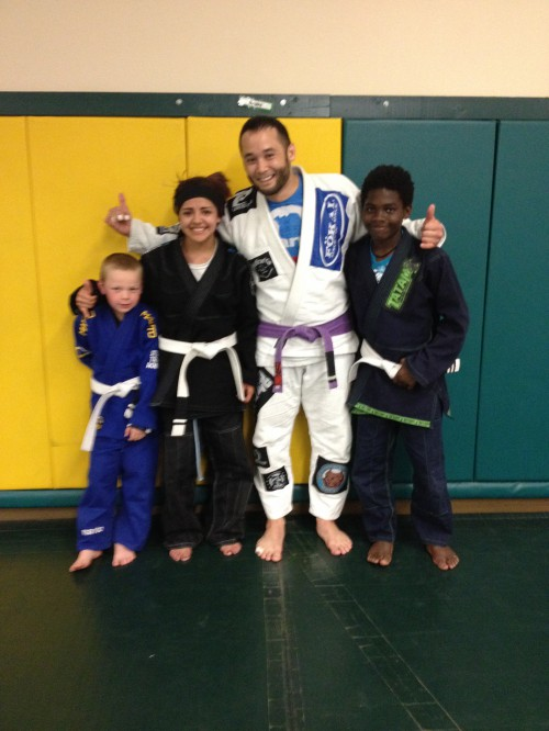 Congratulations to Jenny, Makenzie & Boden on getting striped by Quincy Brazilian Jiu-Jitsu!