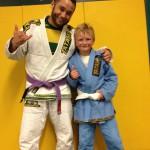 Congratulations to Tucker getting his first stripe from Quincy Brazilian Jiu-Jitsu