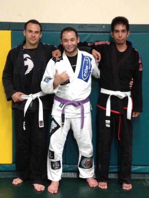 Edson and Al of Quincy Brazilian Jiu-Jitsu in Grant County, WA