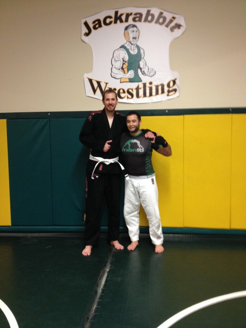 Congratulations to Casey Mead on getting his 1st Stripe from Quincy Brazilian Jiu-Jitsu