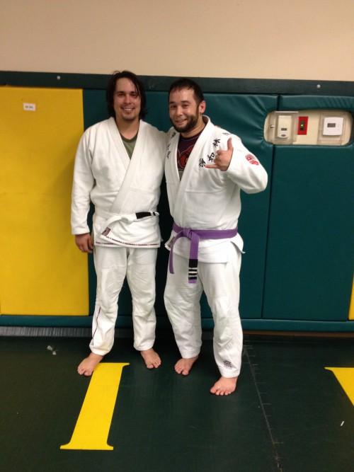 Congratulations to Tony on Earning his 1st Stripe from Quincy Brazilian Jiu-Jitsu