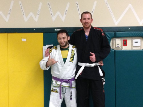 Congratulations to Big Casey getting striped from Quincy Brazilian Jiu -Jitsu