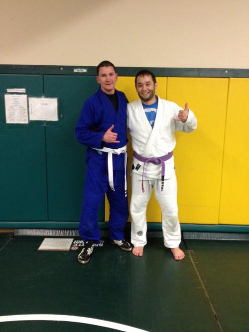 Congrats to Beau for finally getting his 2 stripes from Quincy Brazilian Jiu-Jitsu