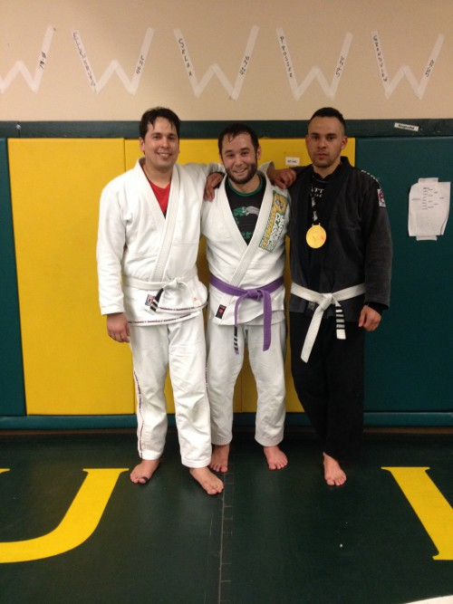 Congrats to Tony for getting his 2nd stripe from Quincy Brazilian Jiu-Jitsu