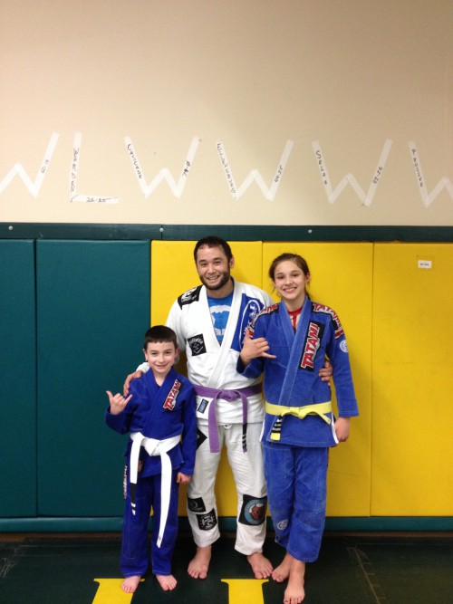 Congrats to Anthony & Jaselyn for earning another stripe from Quincy Brazilian Jiu-Jitsu