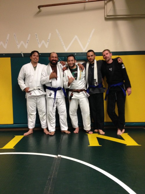 Congratulations to Lalo, Shawn, Edson & Tony on Their Promotions from Quincy Brazilian Jiu-Jitus