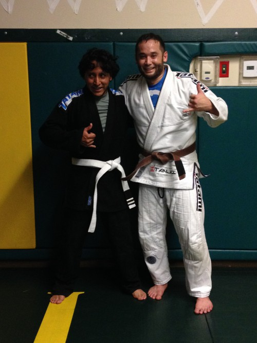 Congratulations to Jesus on getting his 2nd Stripe