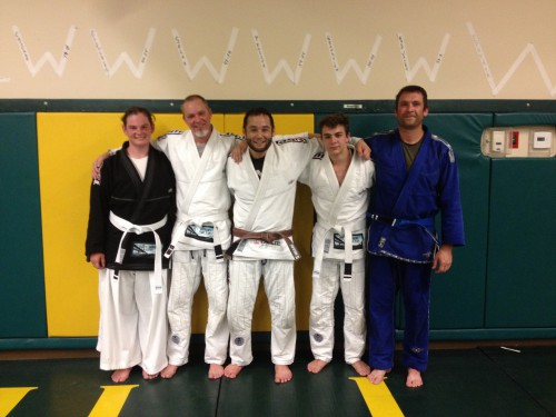 Congratulations to Jennifer, Eric, Trevor & Jason for Earning Their First Stripes