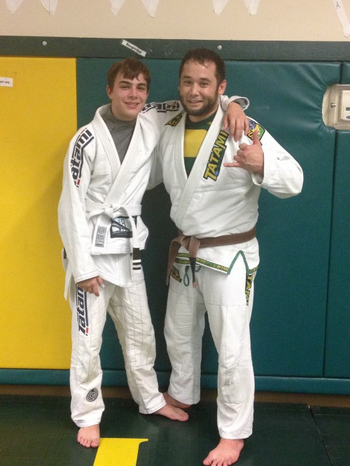 Congratulations to Brandon on his 2nd Stripe!