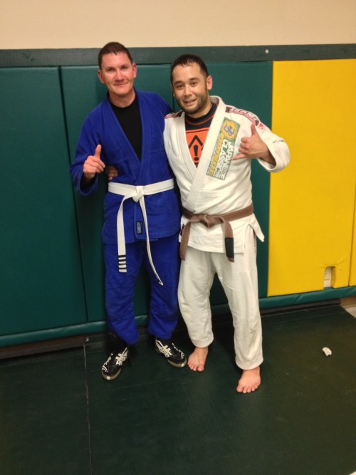 Congratulations to Brandon on his 4th Stripe!