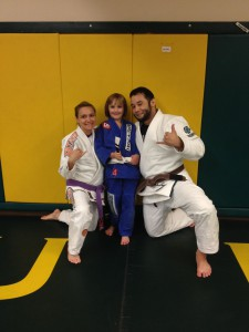 Congratulations to Alexis on her first stripe