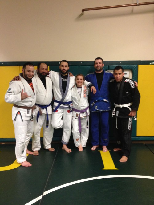 Congratulations to Lalo, Edson, Christan, Jason and Gus on earning another stripe