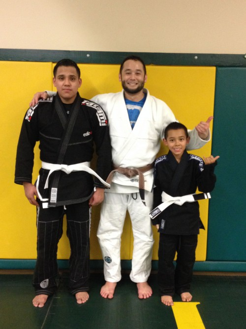 Congratulations to Gustavo and Saidt on earning another stripe!