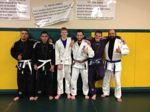 Congratulations to Lupe, Gustavo, Hunter, Jayden and Lalo on their new stripes