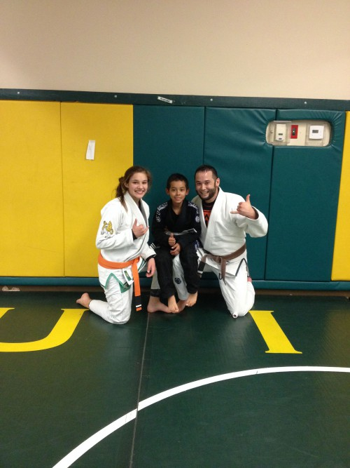 Congratulations to Jaselyn and Saidt on earning another stripe