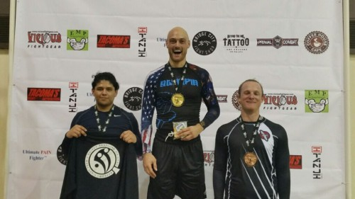 Fernando taking 2nd in No Gi in the Revolution Tournament on March 6th, 2016