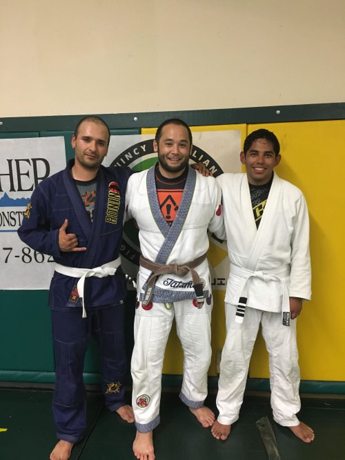 Congratulations to Juan and Joe on earning another stripe