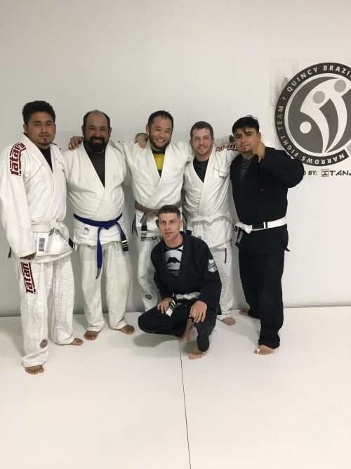 Congrats to Jorge, Lalo, Devon, Chase & Orlando on earning their stripes from Quincy Brazilian Jiu-Jitsu