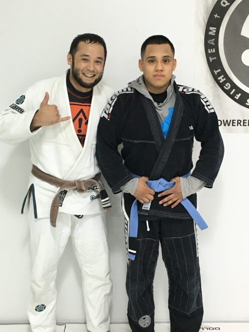Congratulations to Gustavo on Earning Another Stripe