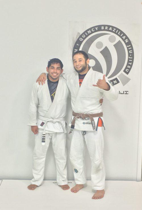 Congratulations to Joe on earning another stripe from Quincy Brazilian Jiu-Jitsu
