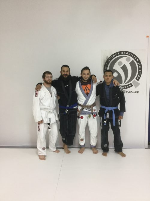 Congratulations to Chase, Edson and Gus on earning another stripe from Quincy Brazilian Jiu-Jitsu