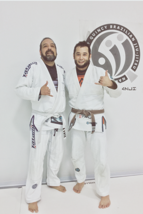Congratulations to Silvie Earning His 4th Stripe from Quincy Brazilian Jiu-Jitsu