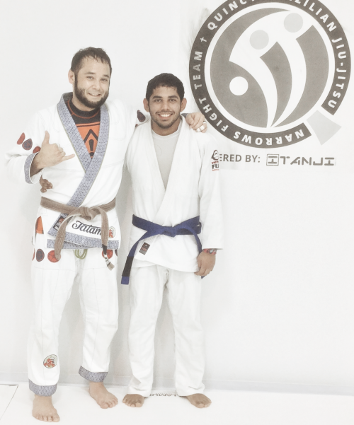 Congratulations to Joe-say on earning his blue belt from Quincy Brazilian Jiu-Jitsu