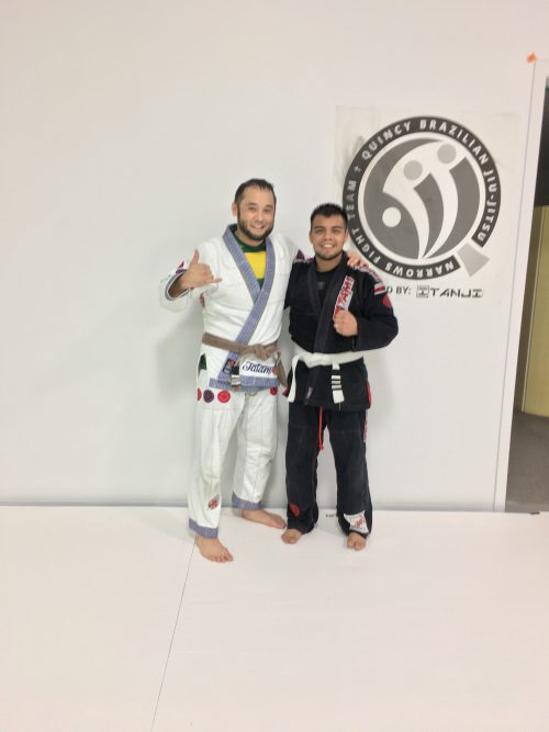 Congratulations to Timmy Silvas on Earning Another Stripe from Quincy Brazilian Jiu-Jitsu