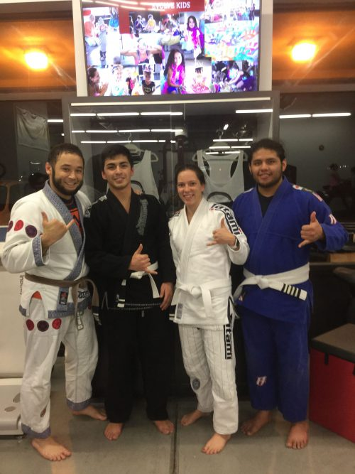 Congratulations to Diego, Leah & Fernando on earning a stripe from Quincy Brazilian Jiu-Jitsu