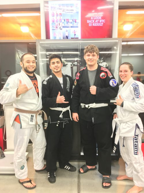 Congratulations to Deigo, Jacob and Leah earning stripes at Quincy Brazilian Jiu-Jitsu