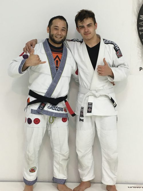 Congratulations to Edward on Earing His 2nd Strip from Quincy Brazilian Jiu-Jitsu!