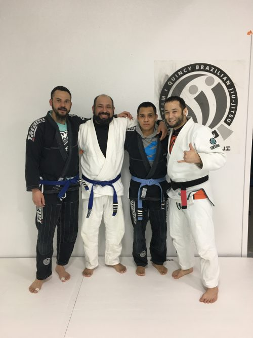 Congratulations to Edson, Lalo and Gustavo on Earning Another Stripe from Quincy Brazilian Jiu-Jitsu