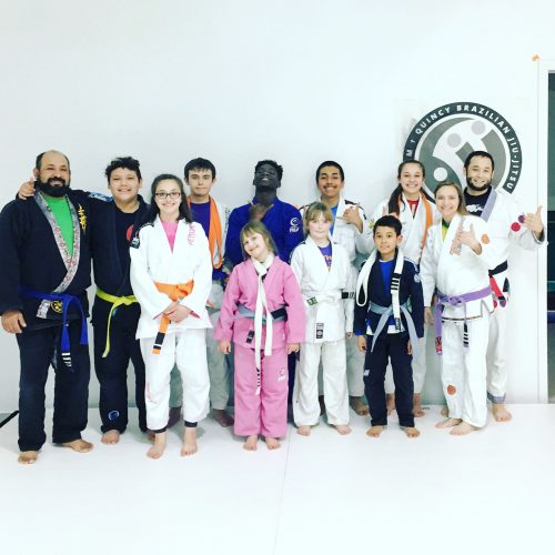 Congratulations to Trytan, Tejah, Ethan, Alexis, Mykenzi, Alyssa, Junior, Seth and Jaselyn on their promotions from Quincy Brazilian Jiu-Jitsu