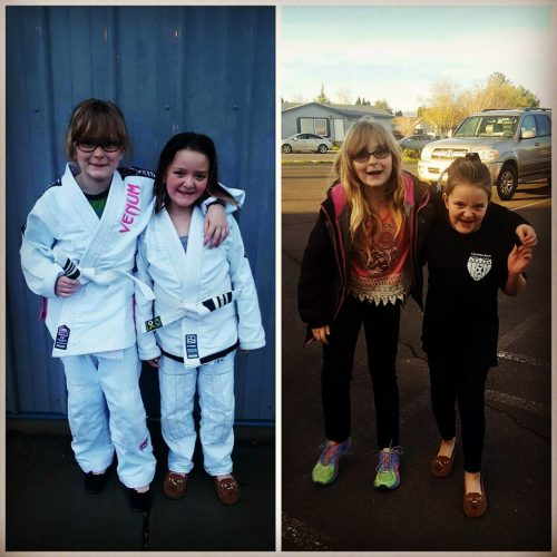 Congratulations to Alyssa & Mikayla on Earning Another Stripe!