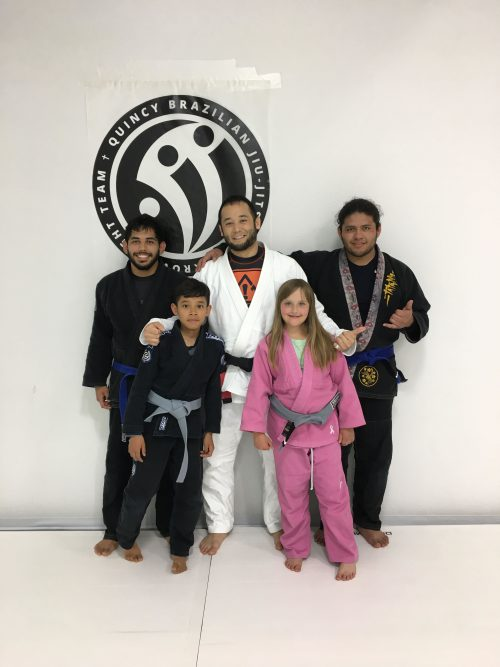 Congratulations to Joe, Saidt, Alexis and Fernando on earning another stripe at Quincy Brazilian Jiu-Jitsu