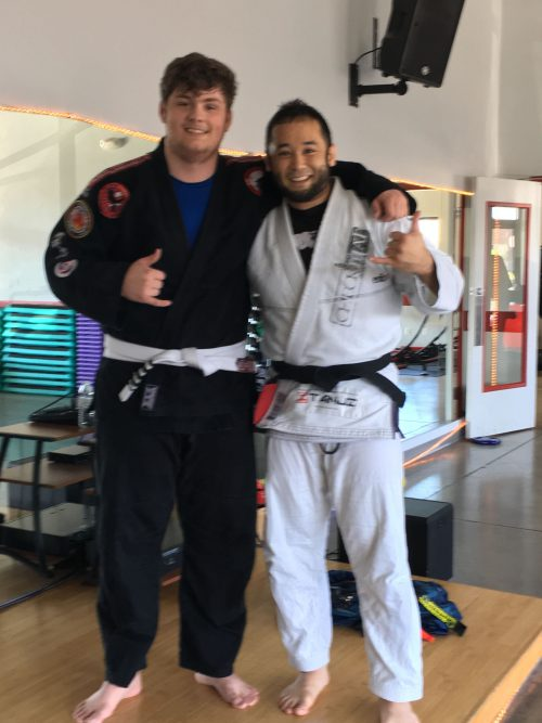 Congratulations to Jake Lanphear Earning his last stripe on his white belt from Quincy Brazilian Jiu-Jitsu