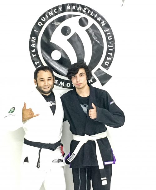 Congratulations to Isaac earning his first stripe from Quincy Brazilian Jiu-Jitsu