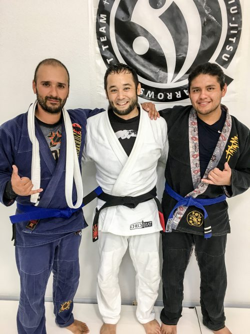 Congratulations to Juan earning his Blue Belt and Fernando earning another stripe from Quincy Brazilian Jiu-Jitsu