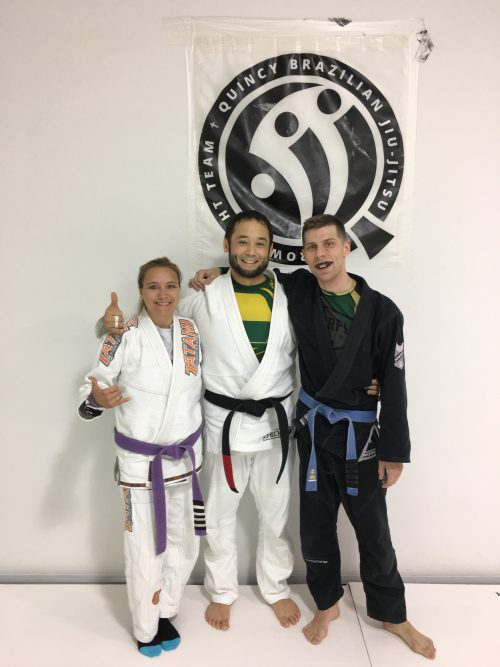 Congratulations to Christan and Devon on their promotions from Quincy Brazilian Jiu-Jitsu (BJJ)