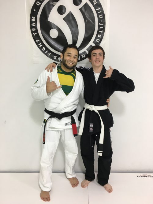 Congratulations to Ethan Earning His First Stripe from Quincy Brazilian Jiu-Jitsu