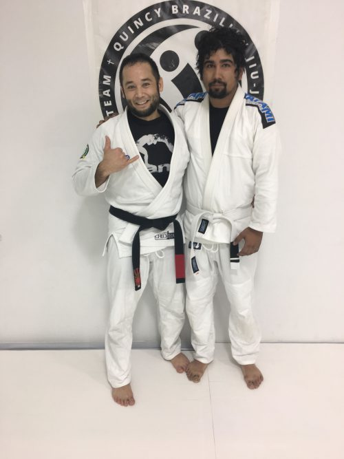 Congratulations to Michael on Earning His First Stripe from Quincy Brazilian Jiu-Jitsu