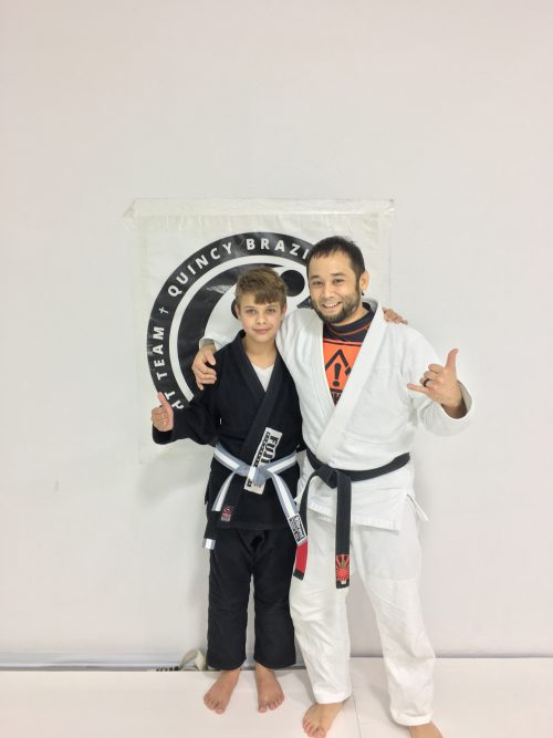 Congratulations to Jace on earning his Grey Belt!
